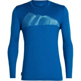 Icebreaker Tech Lite Remarkables LS Crewe Shirt Herre isle
